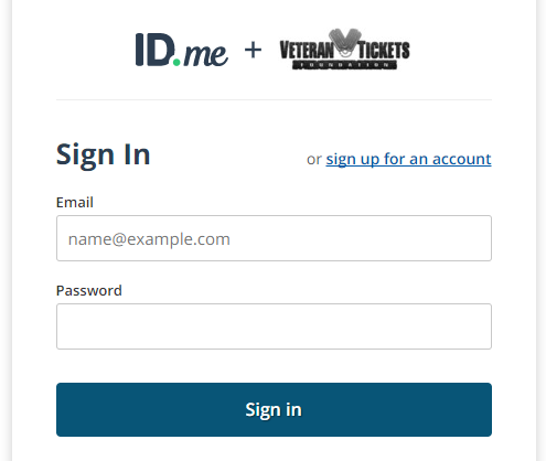 ID.me Log in