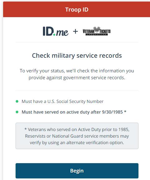Verify status